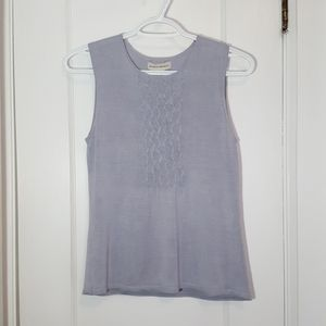 Banana Republic 100% Silk Sleeveless Blouse